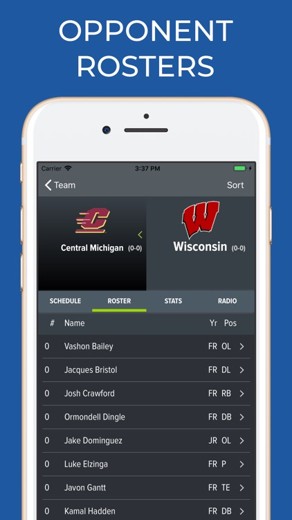 Wisconsin Football Schedules screenshot-6