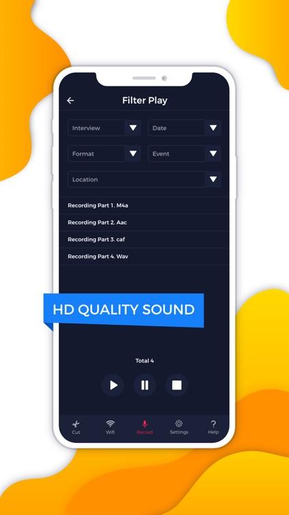 HD Voice Recorder Audio Editor screenshot-5