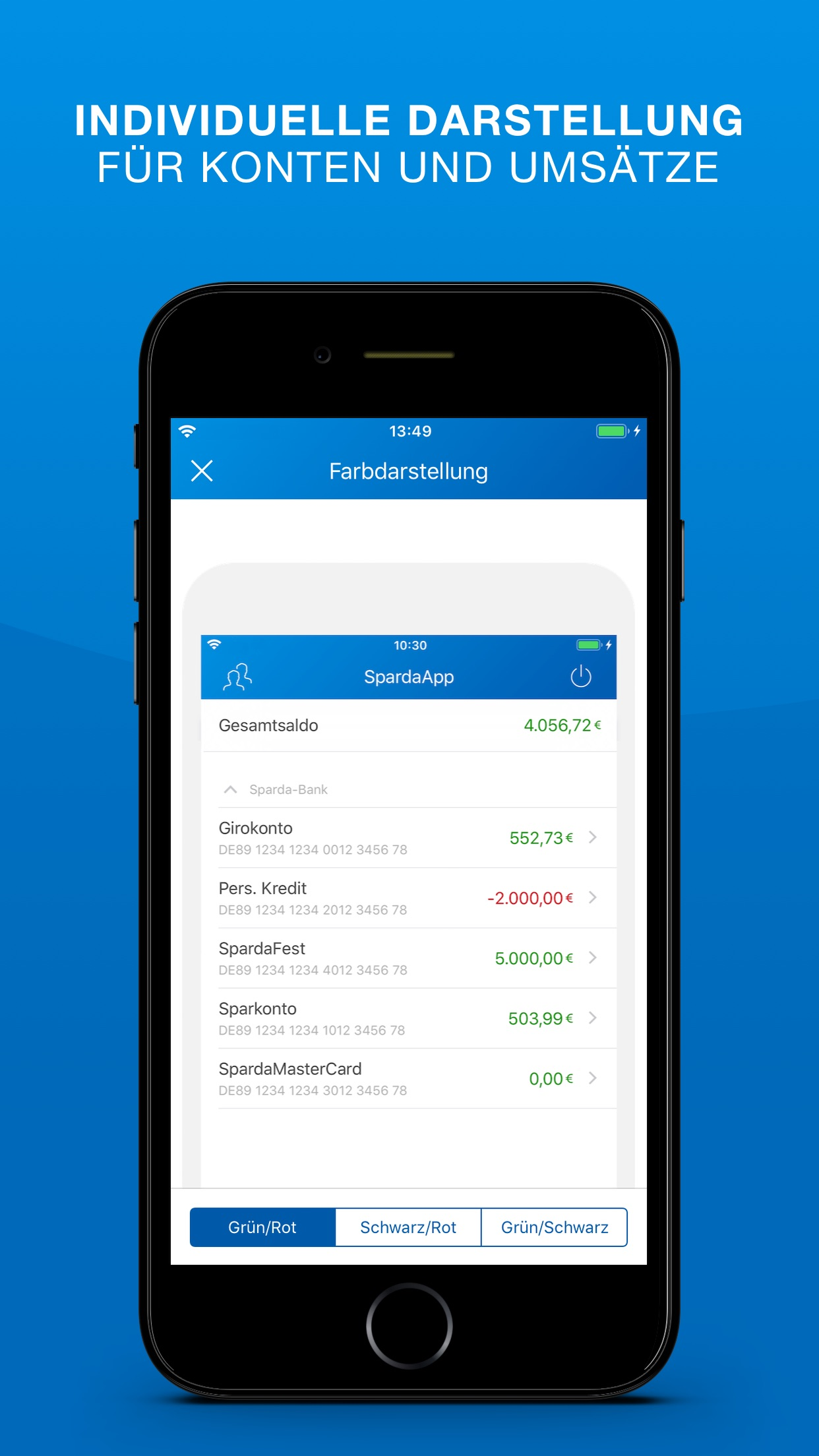 SpardaApp Screenshot