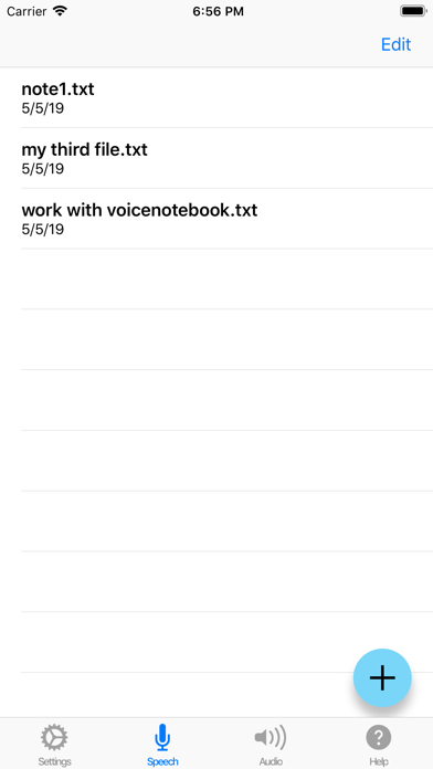 Voice Notebook - audio to text screenshot two