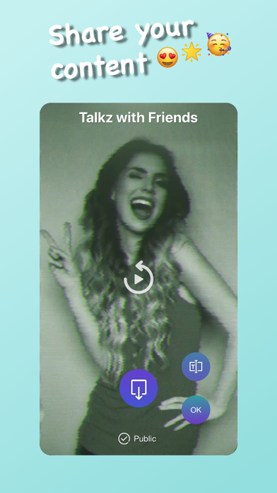 Talkz with Friends app image