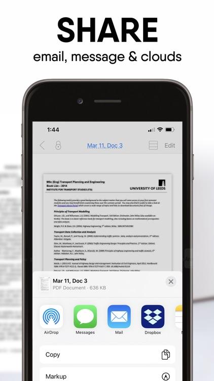 iScanDocs - Scanner App screenshot-3