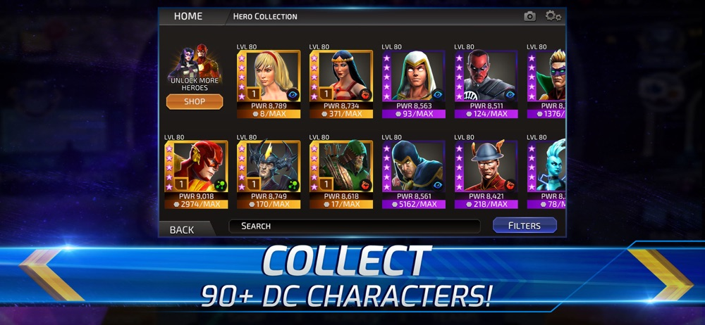 DC Legends: Battle for Justice Cheat Codes