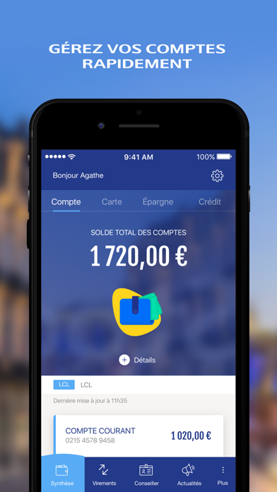 download Mes Comptes - LCL apps 1