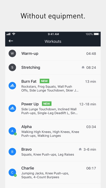 Runtastic Results Home Workout screenshot-3