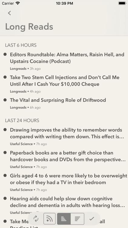 Fiery Feeds: RSS Reader screenshot-3