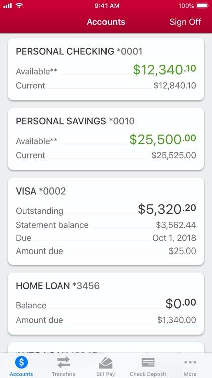Allegacy Federal Credit Union screenshot-1