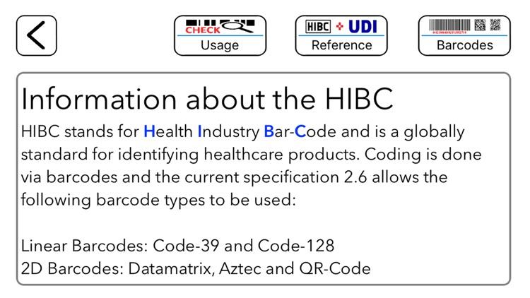 HIBC Check screenshot-4