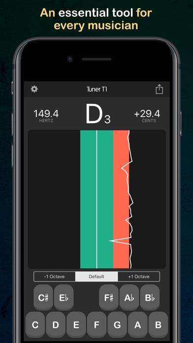 Tuner T1 Pro Screenshots