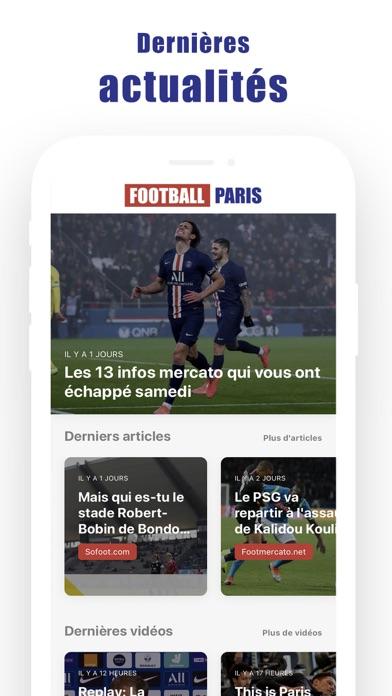 Football Parisلقطة شاشة1