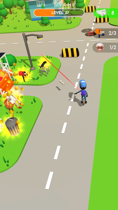 Delivery Rush Game screenshot 1