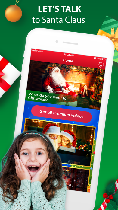 Santa Claus Video Message App screenshot 4