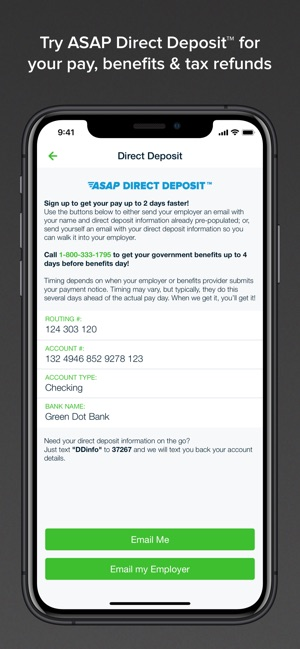 Green Dot - Mobile Banking on the App Store