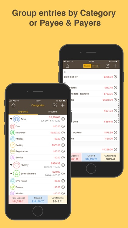 Money Monitor: Expense Tracker screenshot-3
