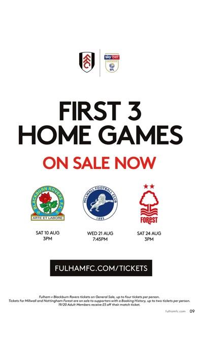 Fulham FC Programme screenshot four