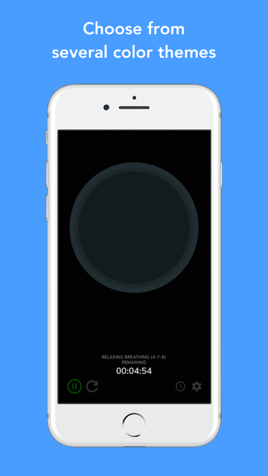 Screenshot for Awesome Breathing: Pacer Timer in Denmark App Store