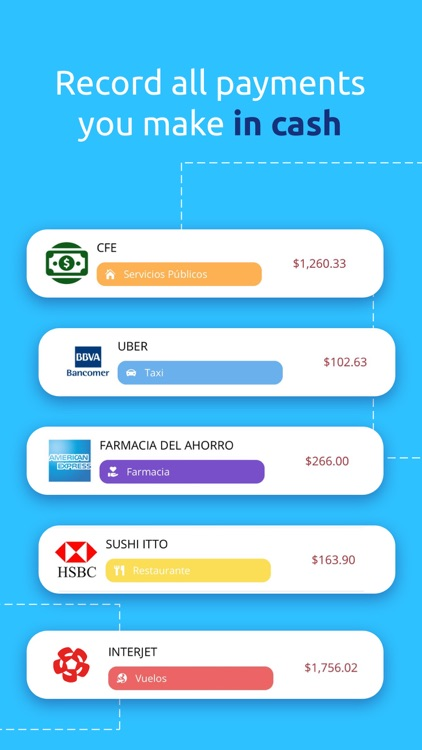 Finerio: Personal Finance App screenshot-3