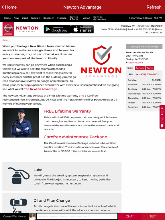 Newton Nissan South >> Newton Nissan South App Price Drops