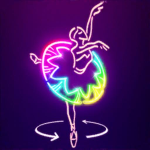 Neon Glow - 3D Color Puzzle