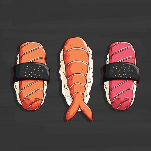 Tasty Japanese Sushi Stickers
