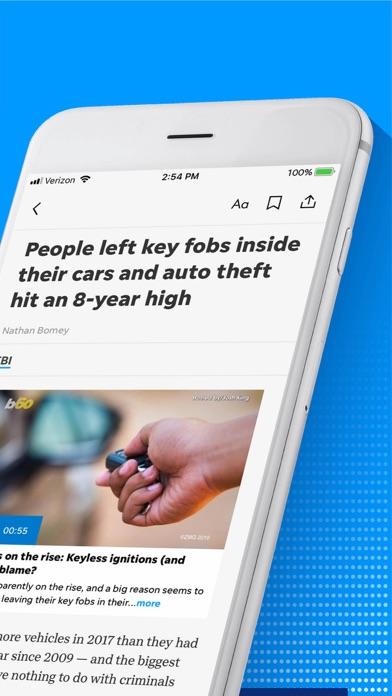 Florida Today Screenshot on iOS
