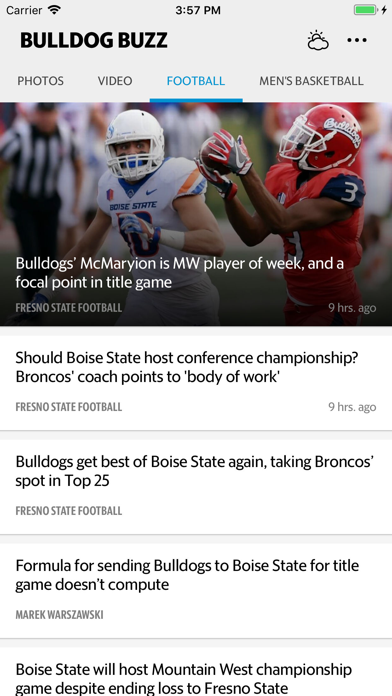 Bulldog Buzz Sports screenshot four