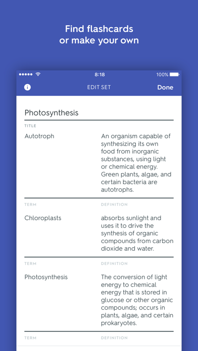 Quizlet Flashcards & Homework by Quizlet Inc (iOS, イギリス