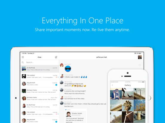 iPad Image of GroupMe