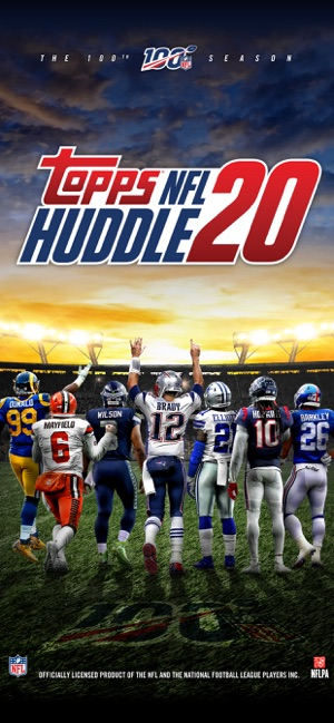 Topps NFL HUDDLE: Card Trader on the App Store