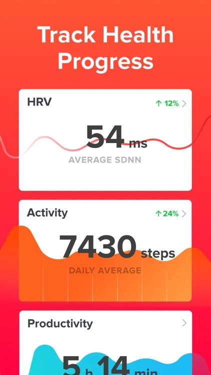 Welltory: Heart Rate Monitor screenshot-3