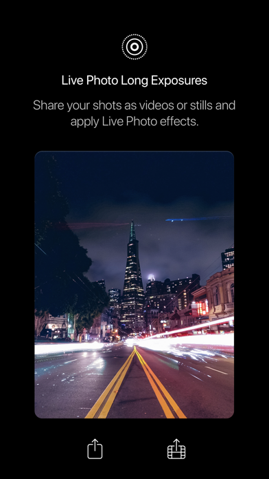 Screenshot of Spectre Camera App