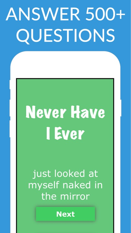 Never Have I Ever?