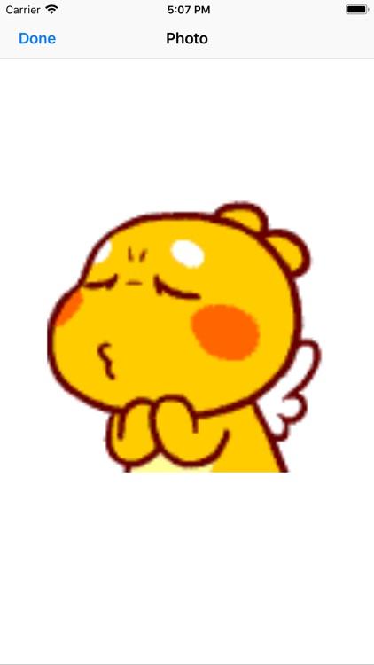 Cute yellow cubby dragon screenshot-4