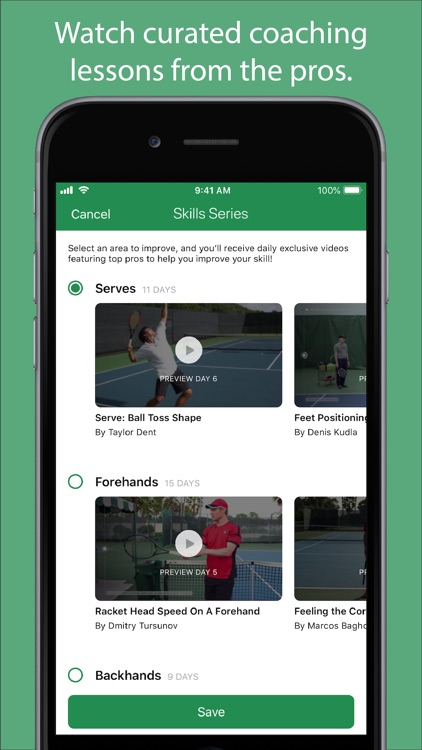 Swing - A.I. Tennis App screenshot-4