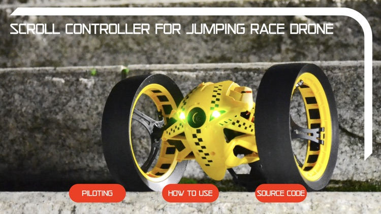 Scroll Controller Jumping Race