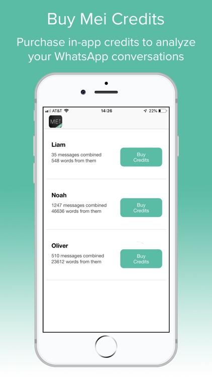 Mei: AI for Relationships screenshot-3