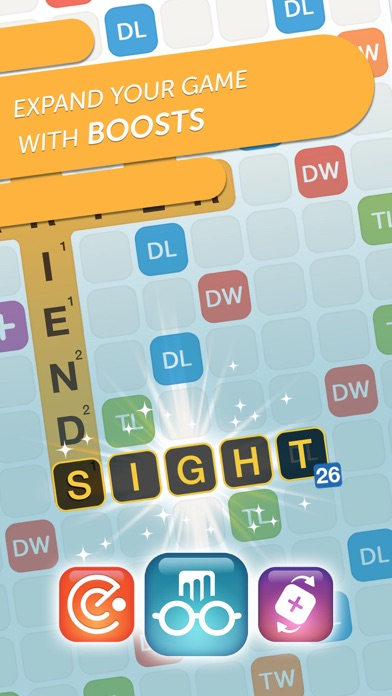 Screenshot from Words With Friends Classic