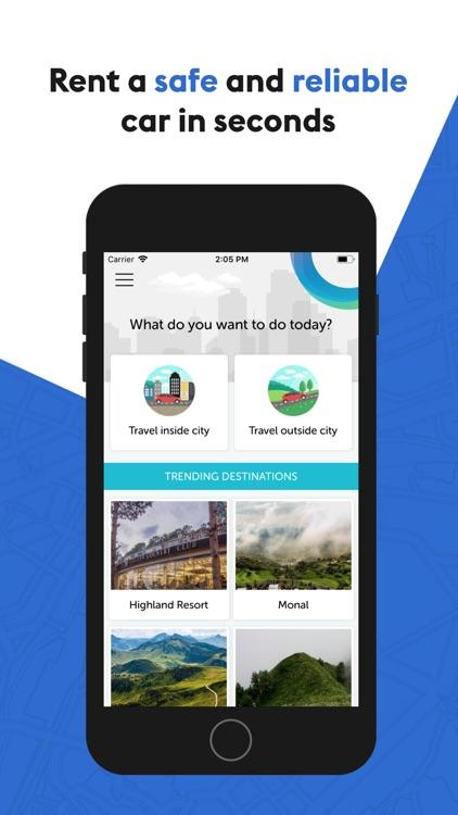 Roamer - Car Rentals App
