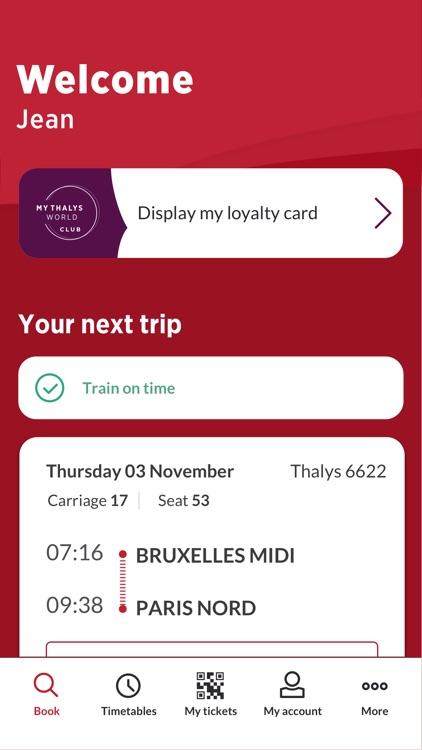 Thalys - International trains