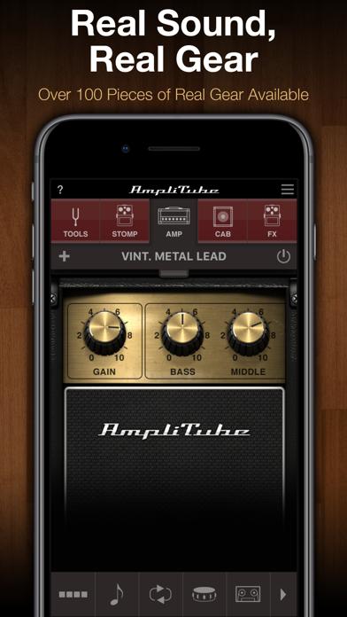 AmpliTube CS ScreenShot0