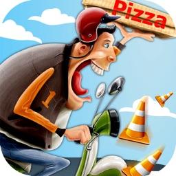 Moto Bike Pizza Delivery GO