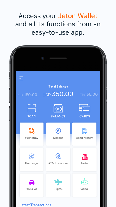 Related Apps: Jeton Wallet - global payments - by Urus