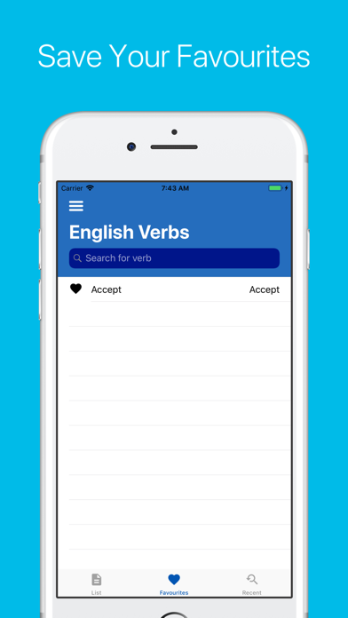 English Verb Conjugator Pro Screenshots