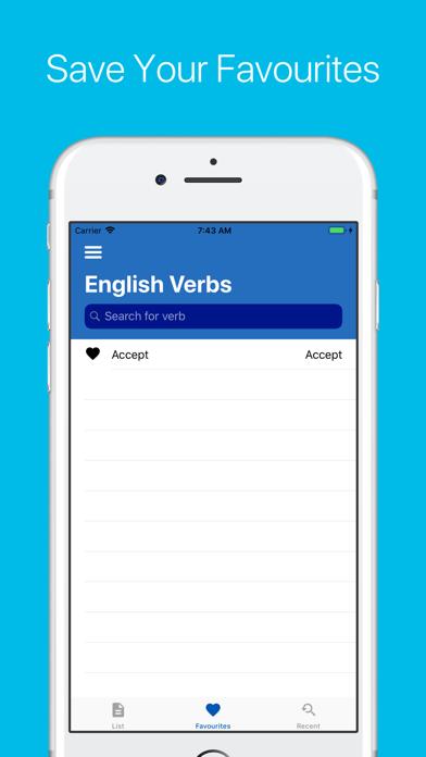 English Verb Conjugator Pro Screenshots