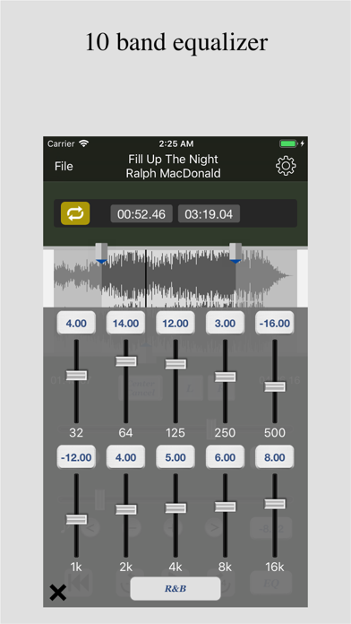 Tune Changer (Pitch,Speed,EQ) by Loop-Sessions LLC  (iOS, United