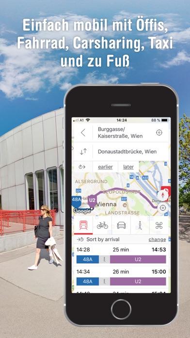 WienMobil screenshot two