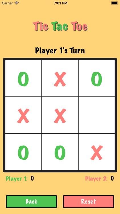 Tic Tac Toe Board Game
