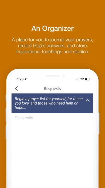 My Partner Prayer Notebook screenshot-1