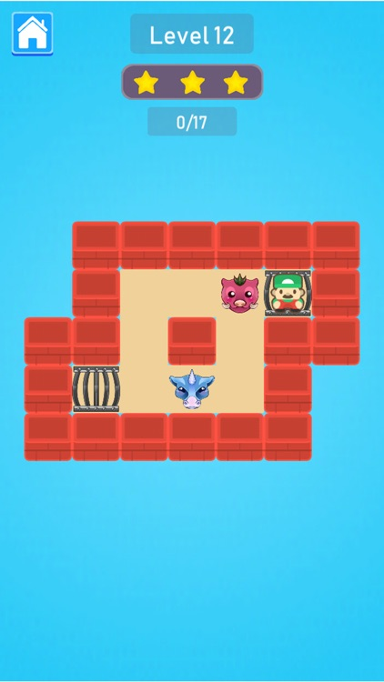 Cage Monsters Push Puzzle screenshot-5