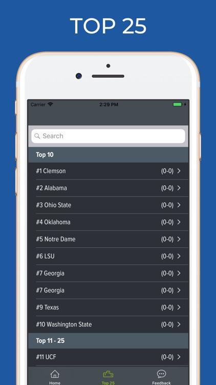 Stanford Football screenshot-4
